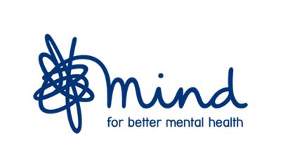 MIND - for better mental health logo