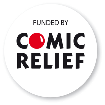 Comic Relief sponsorship logo
