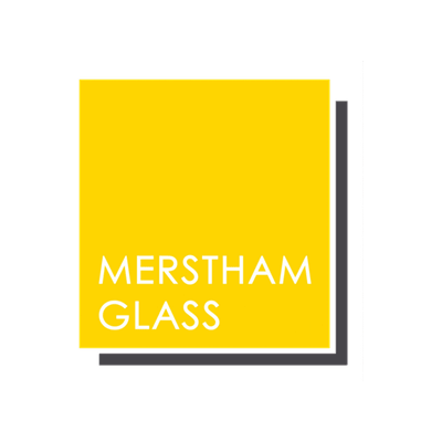 Merstham Glass sponsorship logo
