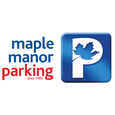 Maple Manor Parking sponsorship logo