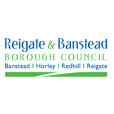 Reigate and Banstead Council sponsorship logo