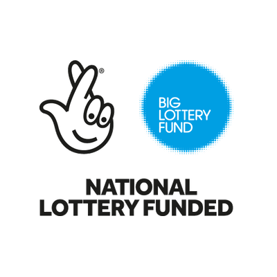 Big Lottery funding logo